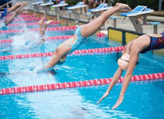 Sportowy strój kąpielowy